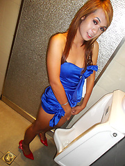 Darling Ladyboy girlfriend Nano ready for her date tonight