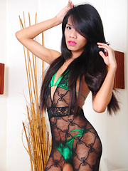 Nicole in Body Stocking